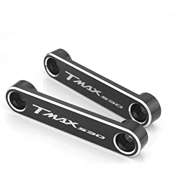 coppia targhette per parafango Tmax nero argento