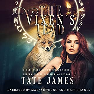 The Vixen's Lead     Kit Davenport, Volume 1              Written by:                                                                                                                                 Tate James                               Narrated by:                                                                                                                                 Marnye Young Matt Haynes                      Length: 8 hrs and 42 mins     5 ratings     Overall 4.2