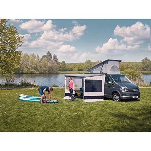 Thule Sun Blocker G2 Seitenwand Small 2,00 Sonnenschutz Wohnwagen Camping Sichtschutz Markise grau