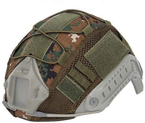 ATAIRSOFT Taktischer Helmüberzug Nylon Helmtuch für BJ/PJ/MH Fast Helme, dw