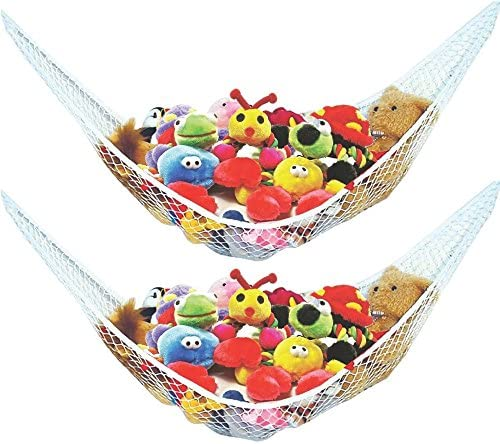 Stuffed Animal Toy Hammock Best for Keeping Rooms Clean Organized and Orderly Comes with an product image