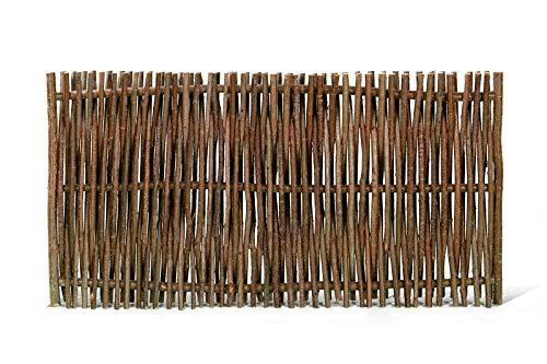 WEIDENPROFI Sichtschutz, Haselnusszaun Modell Universal, Flechtzaun aus Hasel, Größe (BxH): 180 x 90 cm