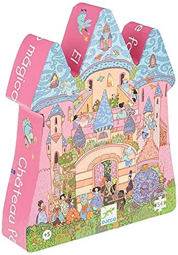 Djeco- Rompecabezas Caastillo de Cuentos, Multicolor (DJ07246)