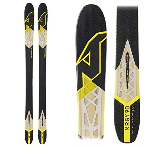 Nordica Mens Nrgy 90 Ski, Black - 169