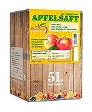 Pfannenschwarz Apfelsaft 100% Direktsaft, 2er Pack (2x5 l Bag in Box) -
