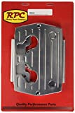 Racing Power Company R6323 Polished Aluminum Optima Ball Milled Battery Tray
