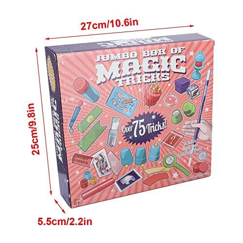 Alomejor Kinder Zaubertricks Spielzeug Geschenk Stage Magic Requisiten für Anfänger(2511)