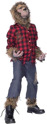 Horror-Shop Werwolf Kinderkostüm mit Maske für Halloween Partys L