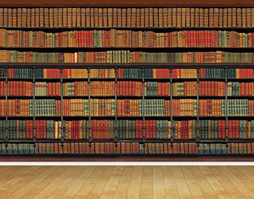 Chicbanners Bibliotheek Boeken Boek Planken Boekenplank Op maat Muur Papier V101 Muur Achtergrond BACKDROP Scene Setter GROTE Lijm Verzegeld Vinyl 2m hoog x 2,7m breed MAKES IMPACT
