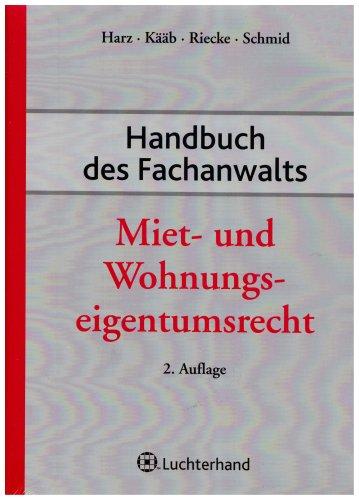Handbuch des Fachanwalts Miet- und Wohnungseigentumsrecht - Partnerlink