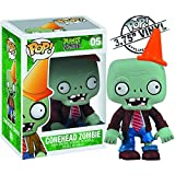 Exclusivo Funko Pop Official Plants vs Zombies - Conehead Zombie Figura de Vinilo de colección Model...