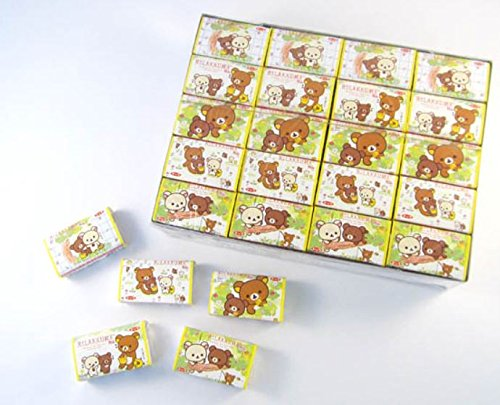 トップ製菓 リラックマガム Rilakkuma (1箱は55個+当たり分5個)