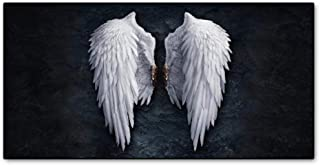 Cjyrjcc Angel Wings Vintage Wall Posters And Prints Black And White Wall Art Canvas Paintings Wings Art Wall Picture For L...