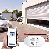 Meross Smart Garage Door Opener Remote Control Add-On to Existing Garage Opener Compatible with Amazon Alexa Google Home SmartThings IFTTT