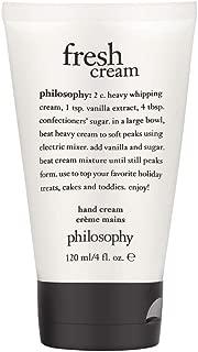 Philosophy Philosophy Fresh Cream 120ml/4oz Hand Cream, 4 Oz