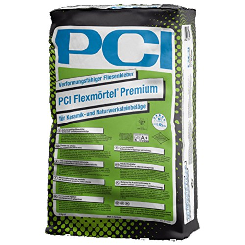 PCI Flexmörtel Premium grau 20kg Verformungsfähiger Fliesenkleber