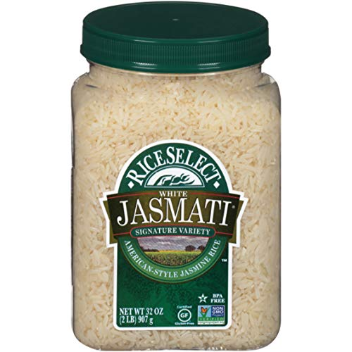 RiceSelect Jasmati Rice, 32-Ounce Jars, 4-Count