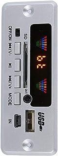 A sixx 3.7-5V Bluetooth Decoder, Black/Silver Hierarchical Portable 3.6 X1.4 X 1.1Inch Bluetooth Mp3 Decoder Module Board,...