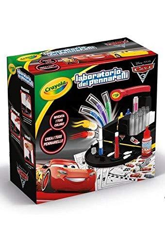 Binney & Smith (Europe) Ltd- Laboratorio dei Pennarelli Cars 3, Multicolore, 829245