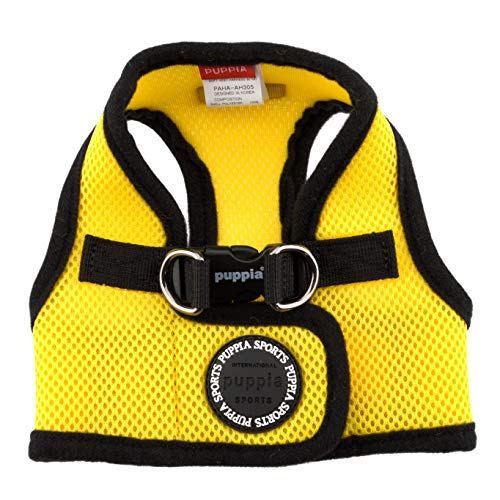 PUPPIA International Harness Soft B Vest, Large, Yellow