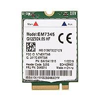 EM7345カード LTEWWANカード thinkpad用 LTEモバイルブロードバンド EMEA諸国/オーストラリア/ニュージーランドをサポート LTE/HSPA +サポートし リモートオフィス接続/ホテルと空港のWi-Fi/ホームオフィスアクセス用