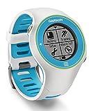 Garmin Forerunner 610 HRM (incluye monitor de frecuencia cardiaca) Edición especial - Reloj con GPS integrado y pulsómetro (pantalla táctil), color blanco, azul y verde
