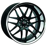 xxr wheels 526 - XXR 526 Black/SSC Wheel with Painted (18 x 9. inches /5 x 4 mm, 25 mm Offset)