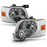 ACANII - For 2006-2010 Ford Explorer Headlights Headlamps Replacement Light Lamp Driver + Passenger Side