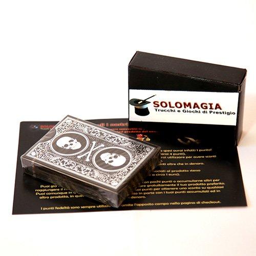 SOLOMAGIA Superior - Skull & Bones - Kartenspiel - Zaubertricks und Magie