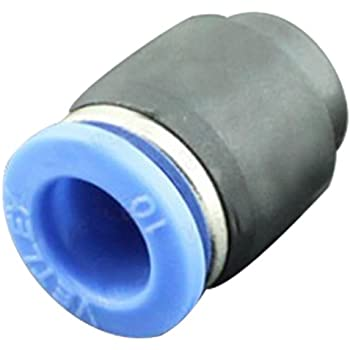 John Guest PP4608WP Push-fit End Cap 1//4 OD Push-to-Connect