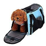 QKEMM Bolsa de Transporte para Mascotas Gato Animal out portátil de Viaje Transpirable Transportín para Perro Perros Gatos Portador M