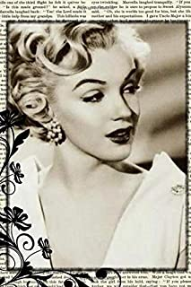 Marilyn Monroe: Famous People Notebook With 120 Lined Pages, Legendary Celebrities, Actors, Actress, Singers, Writers, Pre...