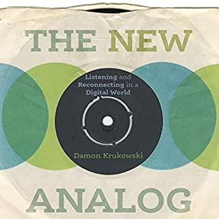 The New Analog audiobook cover art