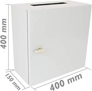 Cablematic Caja de distribuci/ón el/éctrica SPN 16M IP40 para superficie de metal