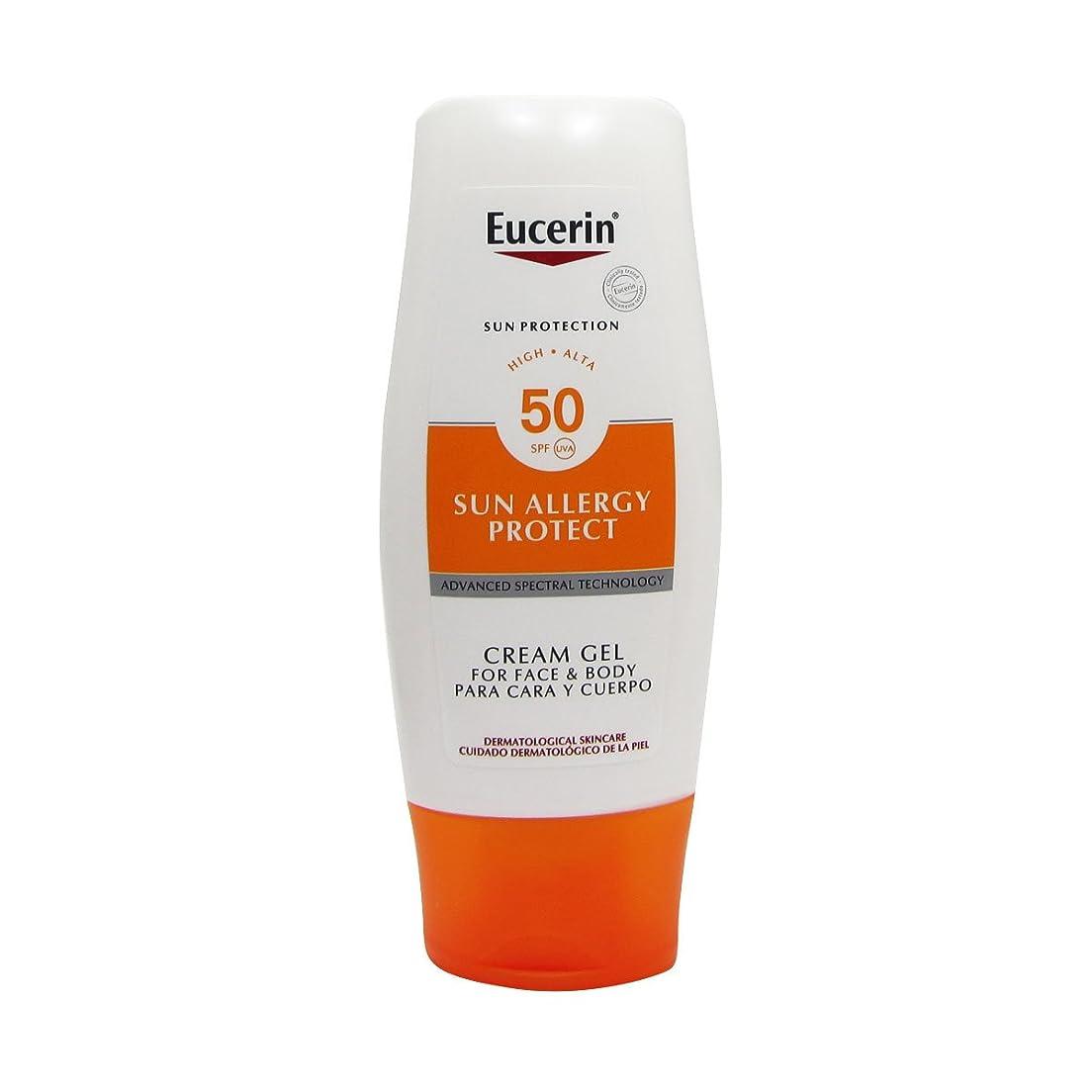 平和的が欲しい動脈Eucerin Sun Cream Gel Allergy Spf50 150ml [並行輸入品]