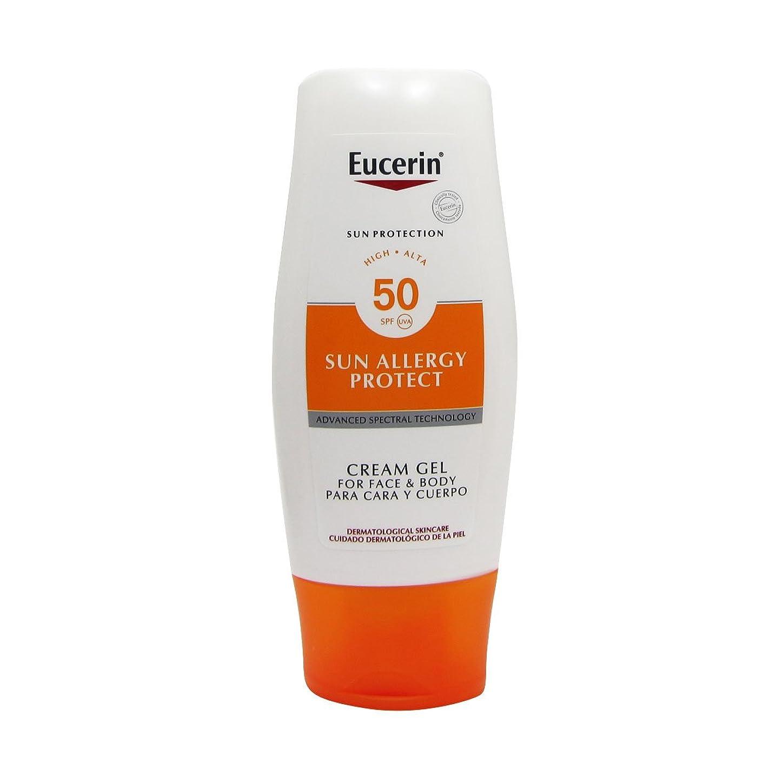 麻酔薬信条アテンダントEucerin Sun Cream Gel Allergy Spf50 150ml [並行輸入品]