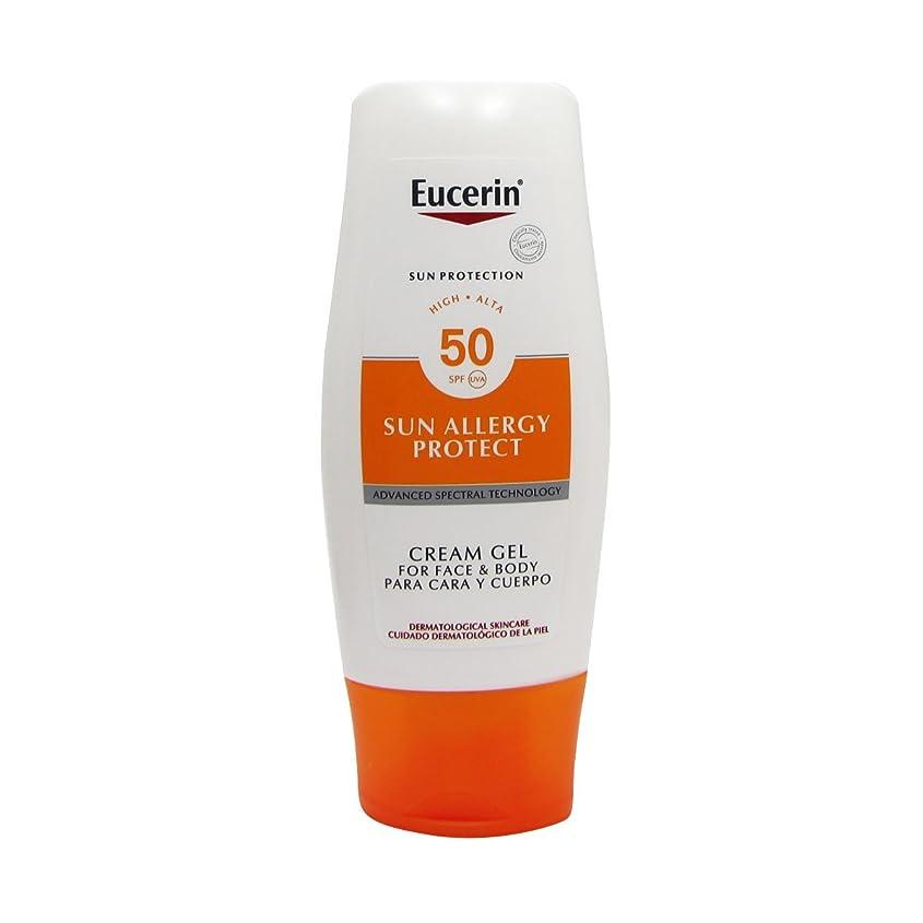時制熱望するマサッチョEucerin Sun Cream Gel Allergy Spf50 150ml [並行輸入品]