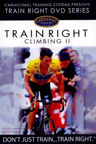 Carmichael Training Systems Trainright - Climbing II DVD