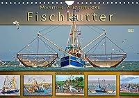 Maritime Augenblicke - Fischkutter (Wandkalender 2022 DIN A4 quer): Maritime Impressionen von Fischkuttern, die einladen, den naechsten Urlaub am Meer zu verbringen. (Monatskalender, 14 Seiten )