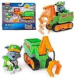 PAW PATROL Ultimate Rescue | Mini Vehículos con Figura del Juego | Patrulla Canina, Figura:Rocky...