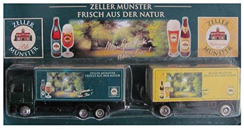 Zeller Münster Nr.03 - Mein Geschmack, Mein Bier - MB Actros - Hängerzug