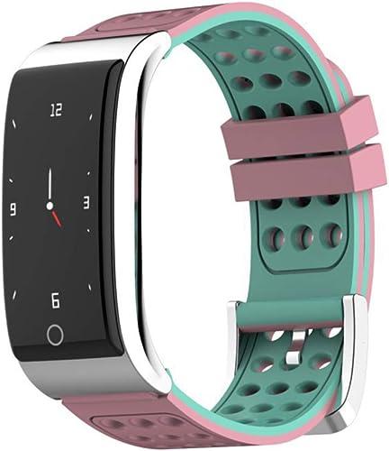 LHJCN Montre Intelligente Femme,Fitness Tracker d'Activité Montre étanche IP67 Bracelet Intelligent Podomètre Calories Sommeil-pour Femme Homme Sport Android et iOS Portable