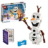 LEGO Frozen Olaf 41169 Costruisci il Pupazzo di Neve Olaf per Entrare nelle Magiche Atmosfere del Film Disney, Set di Costruzione per Bambini +6 Anni,