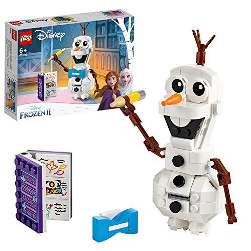 LEGO®-Disney Princess™ Olaf Personnage de La Reine des neiges 2 Jouet Fille et Garçon 6 Ans et Plus, 122 Pièces 41169