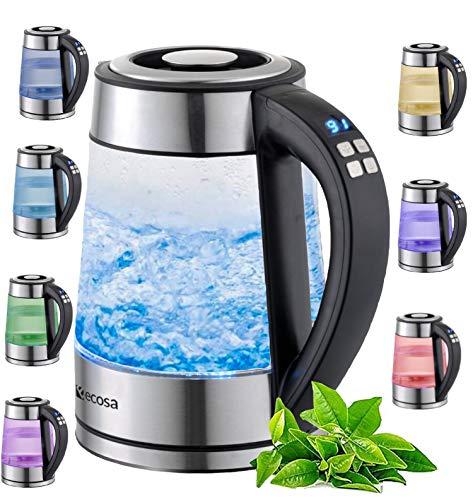 ecosa Glas 1,7 Liter 2200 Watt Bild