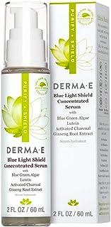 Derma E Blue Light Shield Concentrated Charcoal Green Algae Serum, 60 ml