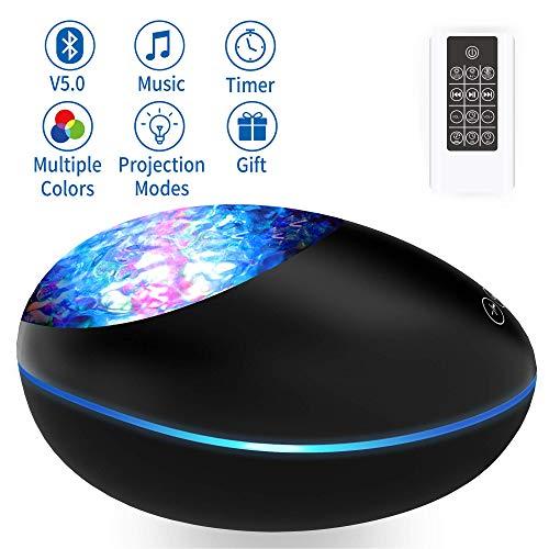 Lampara Proyector Océano Ola Bluetooth 5.0