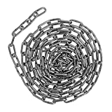 Harrier Stainless Steel Straight Link Chain, 500 Pound Load, 5/32 Inch x 10 Feet