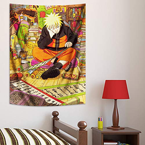 Anime Tapestry for Boys Party Backdrop Supplies and Room Wall Decoration Gifts 30x40in