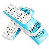 MU Portable Shoe Dryer Boot Dryer Shoe Heater Deodorization Sterilization Shoes Warmers,Purple Light Telescopic,B